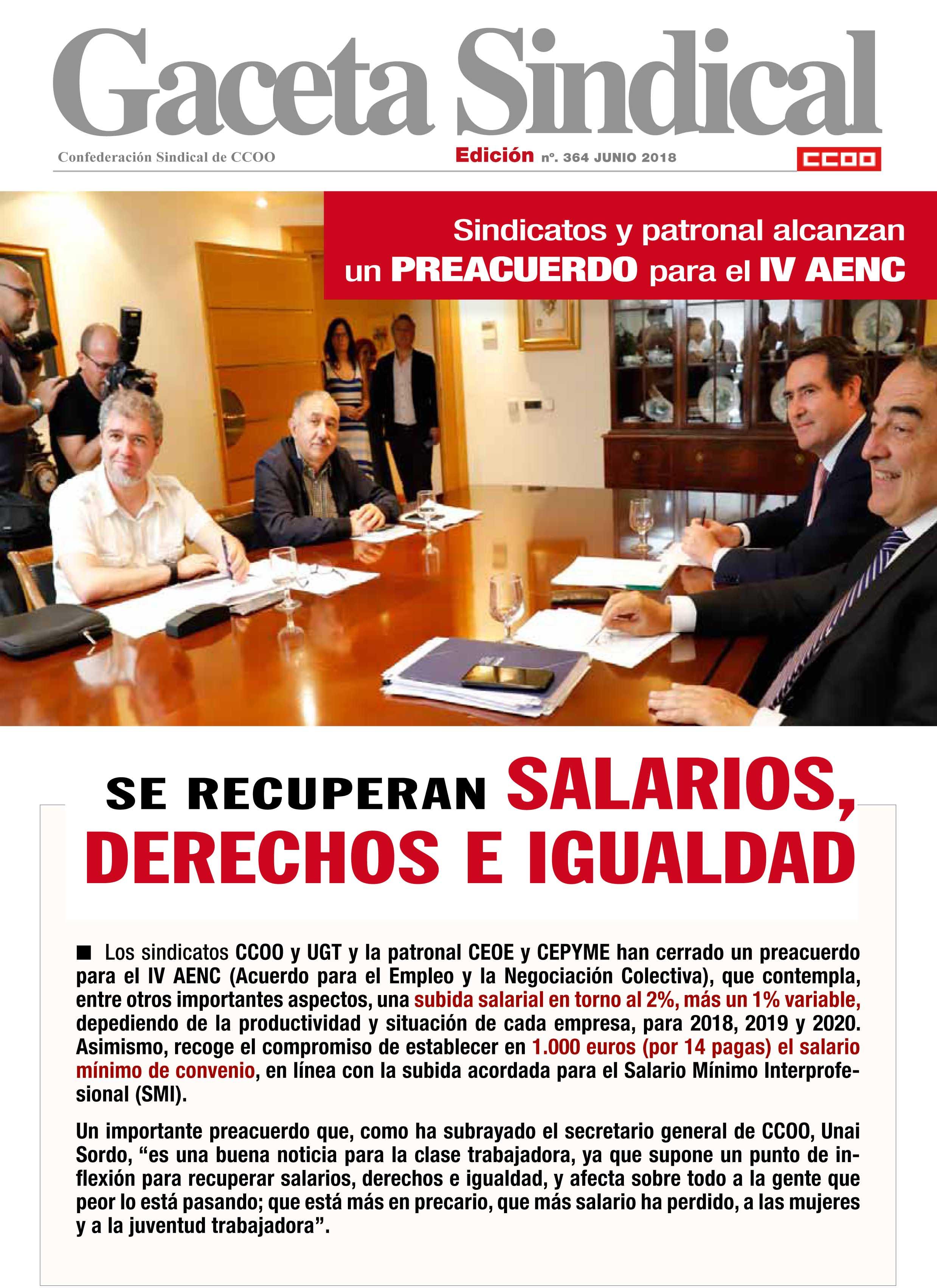 portada Gaceta IVAENC